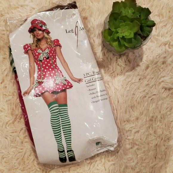 Leg Avenue Raspberry costume women's size L